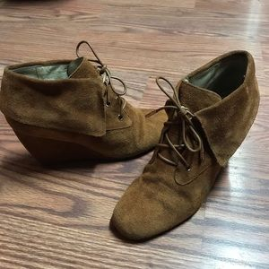 Michael Kors Wedge Booties Size 9